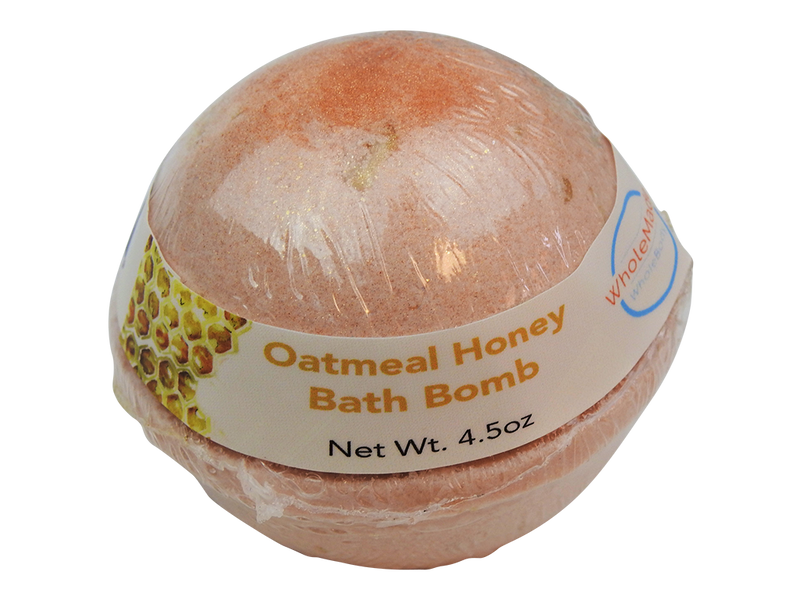 WholeBody Oatmeal Milk + Honey Mega Bath Bomb
