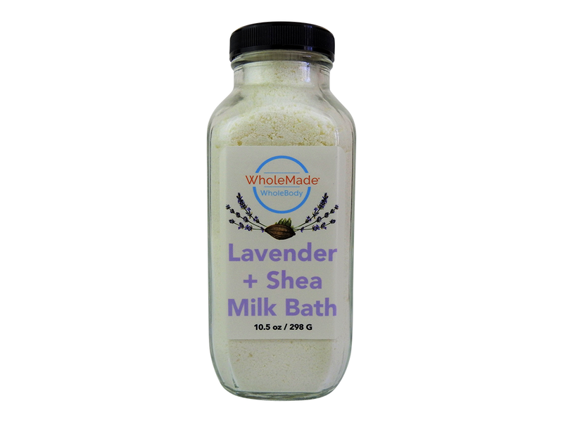 WholeBody Lavender Shea Milk Bath