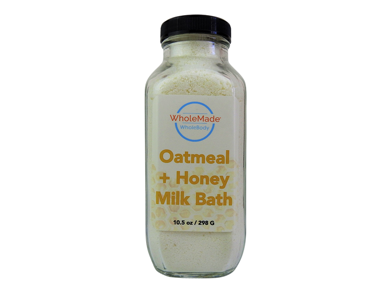 WholeBody Oatmeal, Milk and Honey Milk Bath