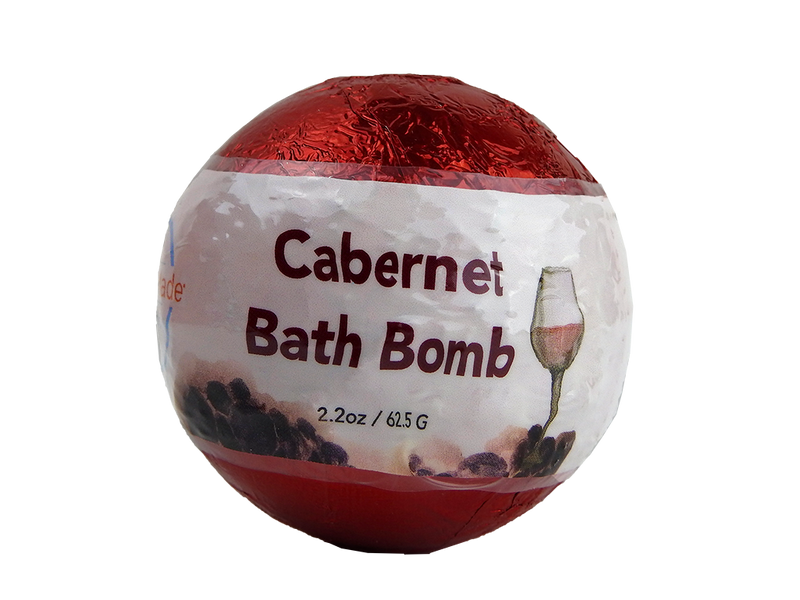 WholeBody Cabernet Bath Bomb