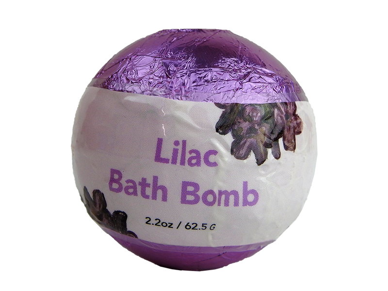 WholeBody Lilac Bath Bomb