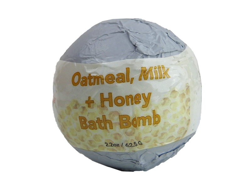 WholeBody Oatmeal Milk + Honey Bath Bomb