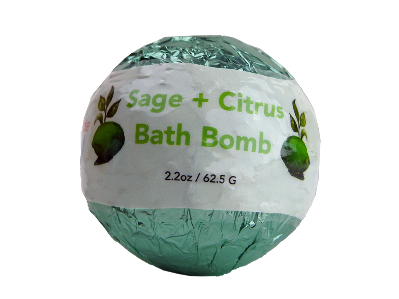 WholeBody Sage + Citrus Bath Bomb