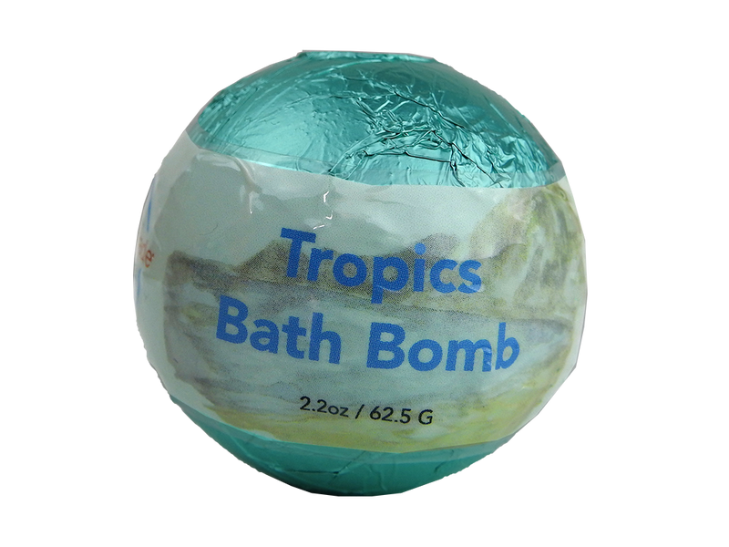 WholeBody Tropics Bath Bomb