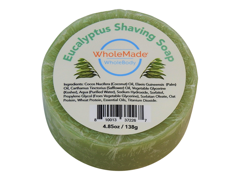 WholeBody Eucalyptus Shaving Soap