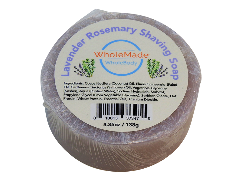 WholeBody Lavender Rosemary Shaving Soap