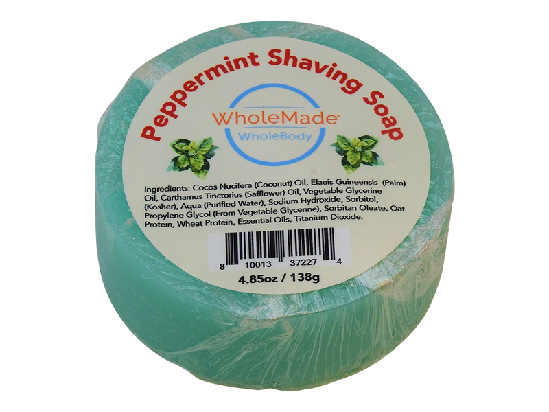 WholeBody Peppermint Shaving Soap