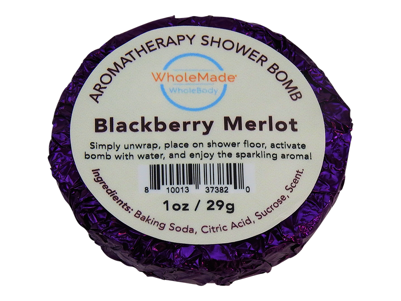 Blackberry Merlot Shower Bomb