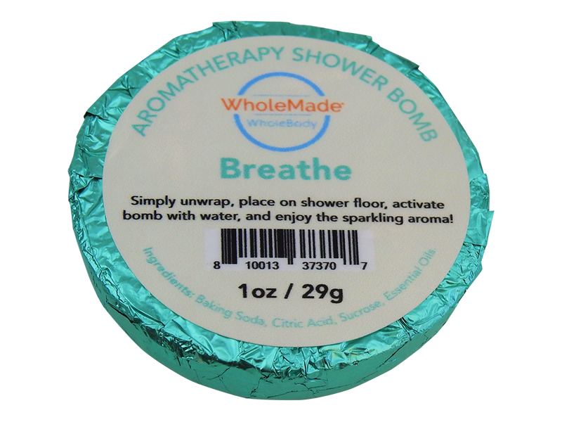 WholeBody Breathe Shower Bomb