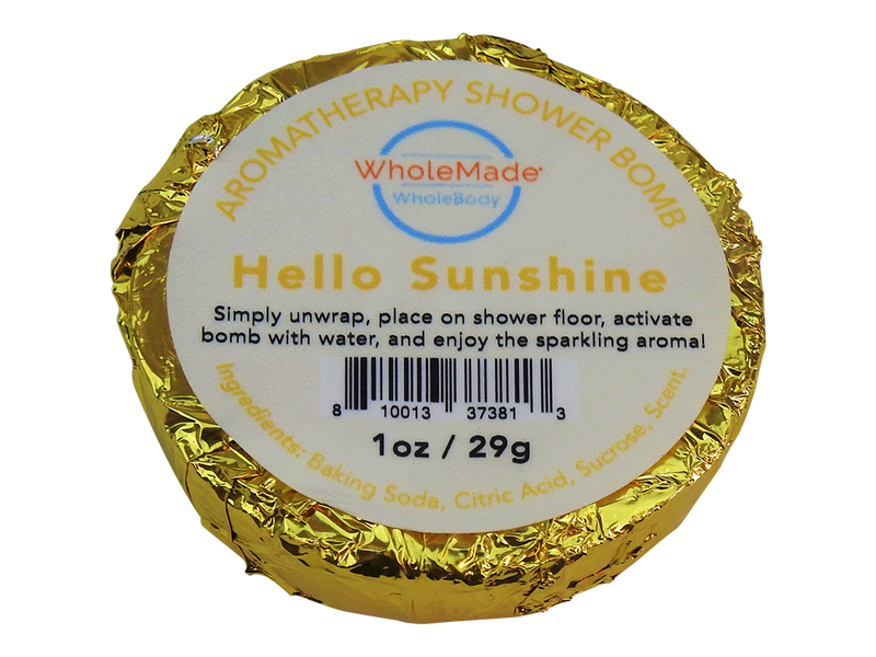 WholeBody Hello Sunshine Shower Bomb