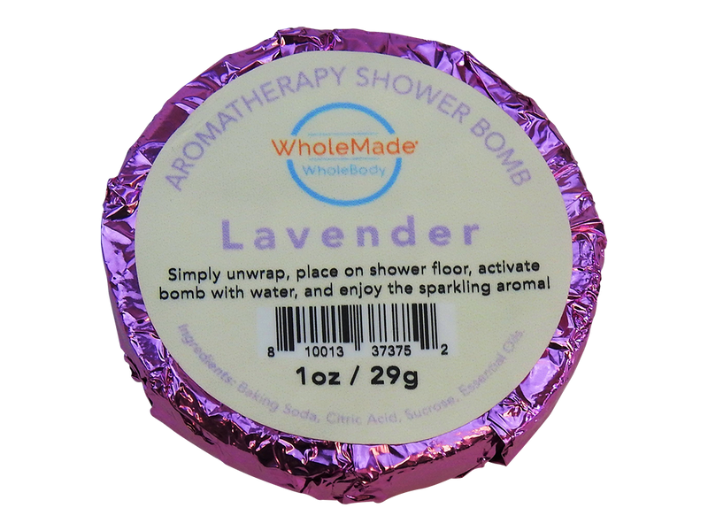 WholeBody Lavender Shower Bomb