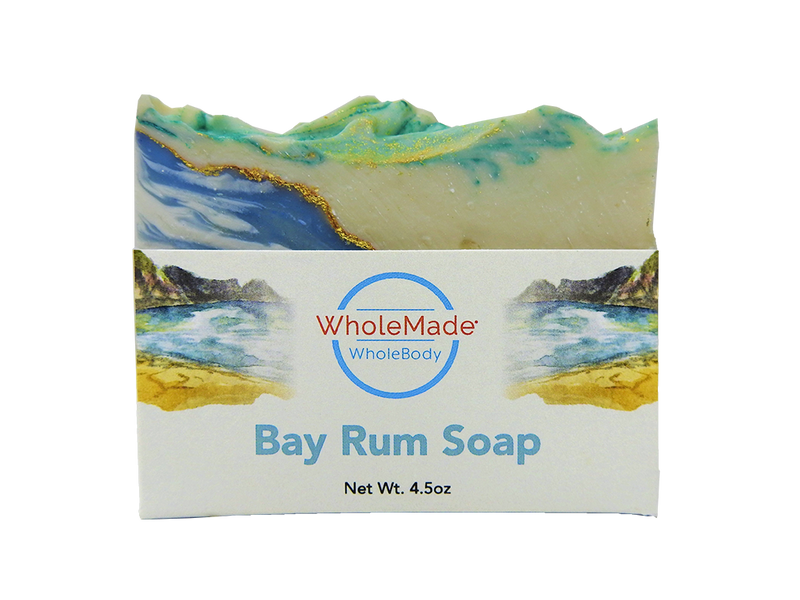 WholeBody Bay Rum Soap