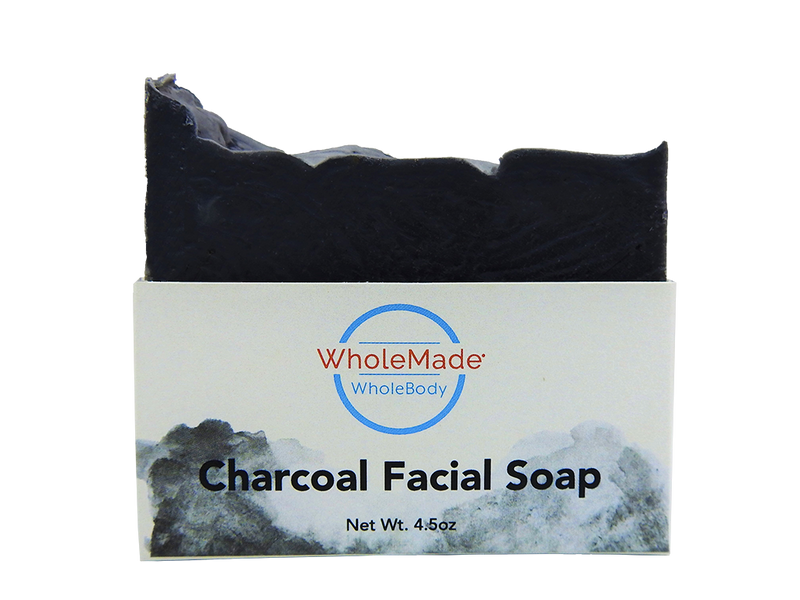 WholeBody Charcoal Facial Soap