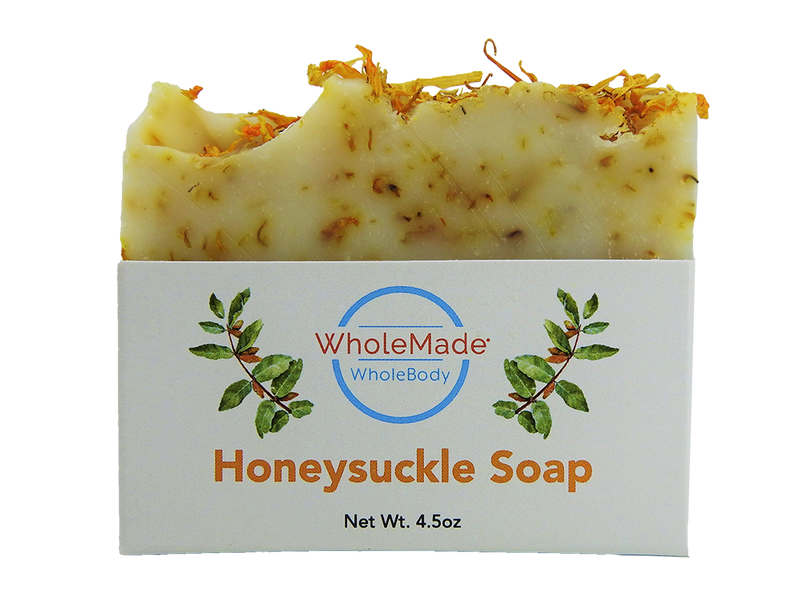 WholeBody Honeysuckle Soap