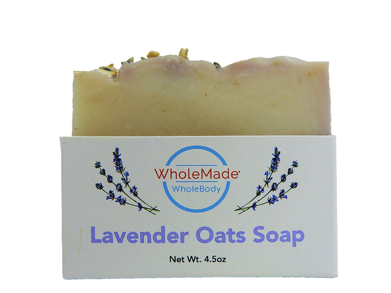 WholeBody Lavender Oats Soap