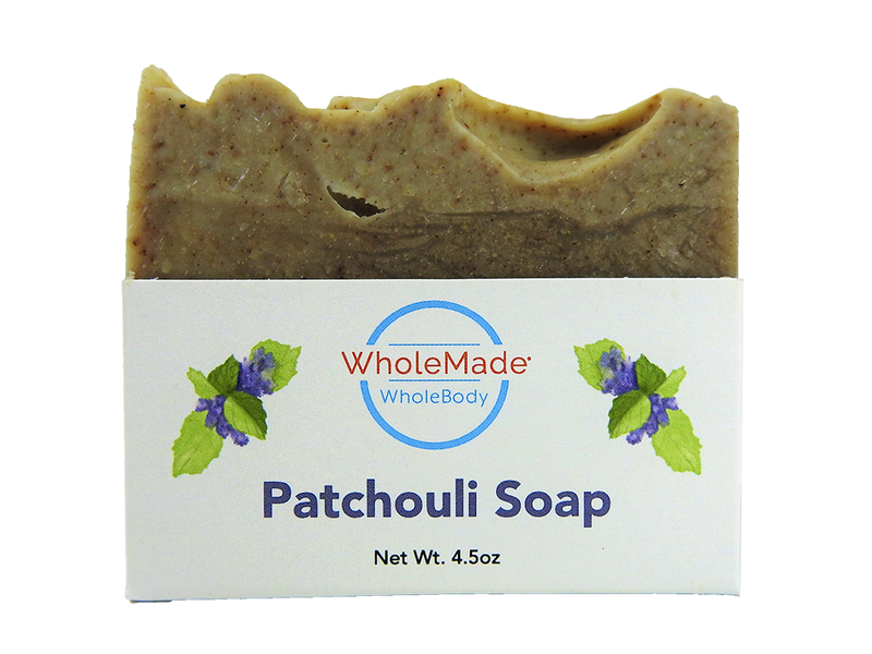 WholeBody Patchouli Soap