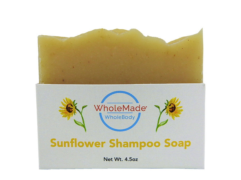 WholeBody Sunflower Shampoo Bar