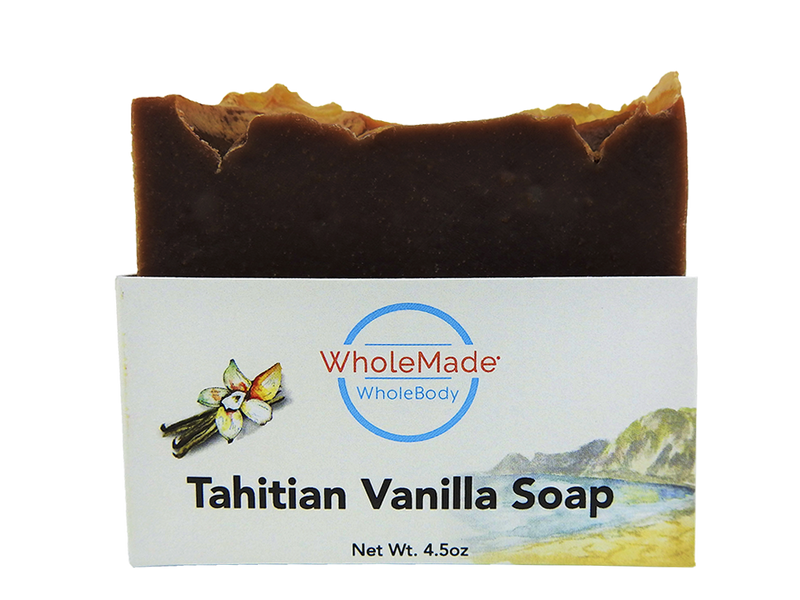 WholeBody Tahitian Vanilla Soap