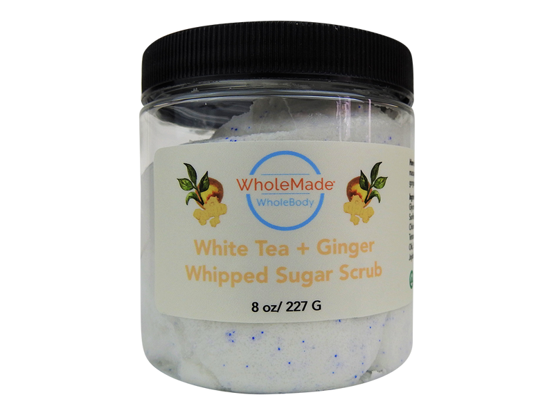 WholeBody White Tea + Ginger Whipped Sugar Soap