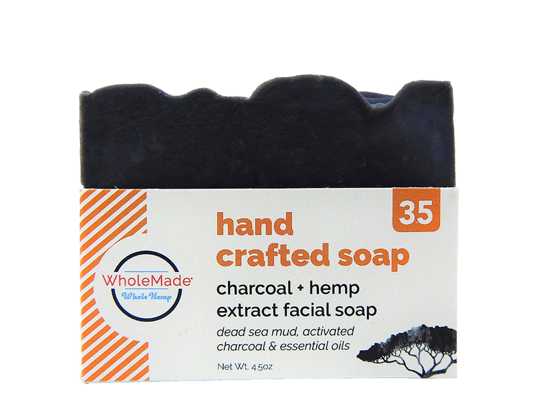 Charcoal Facial Hemp Soap