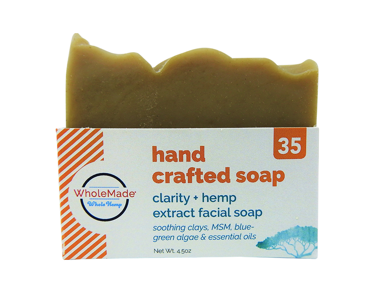 Clarity Facial Hemp Soap