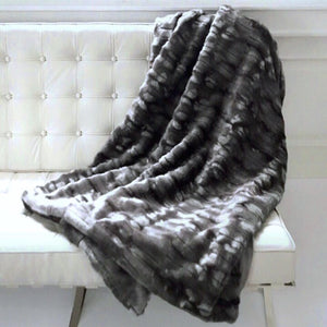 The Beaver Faux Fur Throw