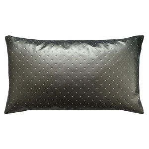 The Luminous Dot Pillow with Faux Fur Back