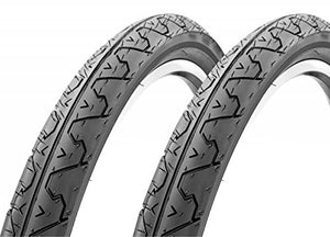 "2 x KENDA K838 Mountain Bike Bicycle Slick Wire Tires Blackwall 26"" x1.95"