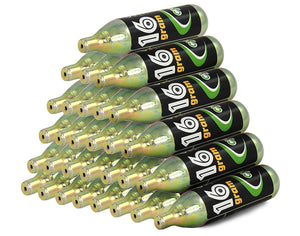 30 x Air Unthreaded 16g CO2 Cartridges 86mm Length