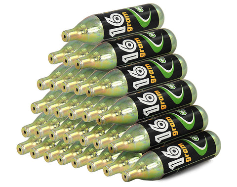 30 x Air Unthreaded 16g CO2 Cartridges 86mm Length CD-CO2-N3-6