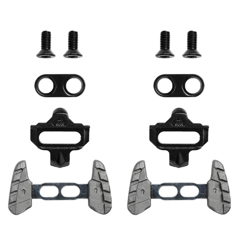 Bike Cleats Compatible with Shimano SPD SM-SH51 - Indoor Cycling , Indoorning & Mountain Bike Bicycle - Clips For Indoor Shoes  (Single Release) With Walking Adapters Wings