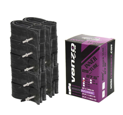 10x Venzo Mountain Bike Tire Inner Tubes 27.5