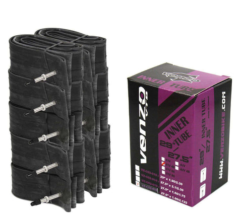 "10x Venzo Mountain Bike Tire Inner Tubes 27.5"" x1.9/2.125 FV48 C02-016-FV48"