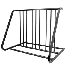 6 Bike Floor Parking Rack Storage Stand Bicycle