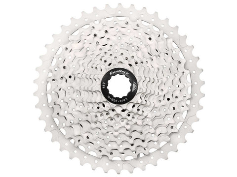 Sunrace MS3 10 Speed Mountain Bike Bicycle Cassette Silver