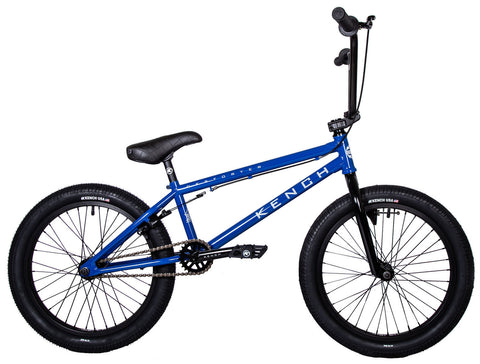 "KENCH Destroyer 02 BMX Bike Bicycle 21"" Freestyle Hi-Ten Blue"