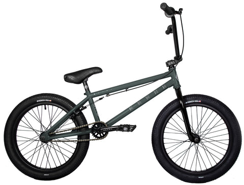 "KENCH Arrow 03 BMX Bike Bicycle 20.5"" Freestyle Cr-Mo Army Green"