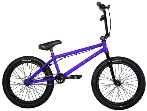 "KENCH Arrow 03 BMX Bike Bicycle 20.5"" Freestyle Cr-Mo Purple"