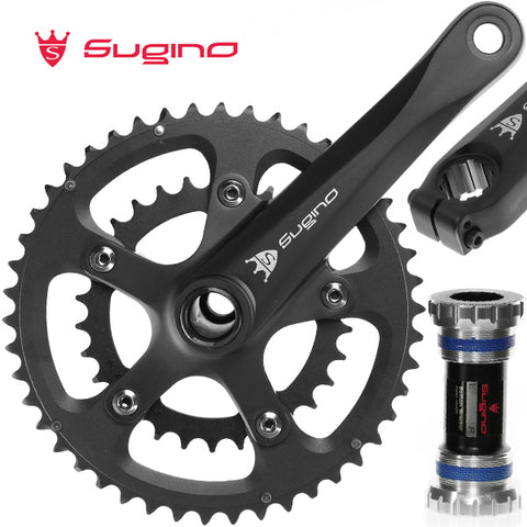 Sugino OX601D Road Bike Crankset For Shimano 9 10s