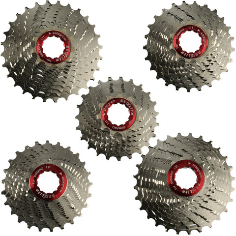 SeqLite Shimano Ultegra Dura Ace 11 Speed Compatible Alloy Road Cassette