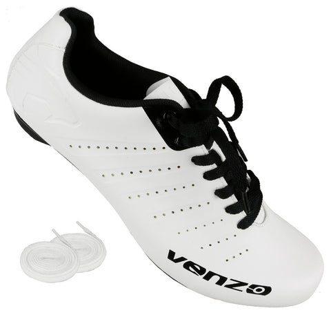 Venzo Road Bike For Shimano SPD SL Look Cycling Bicycle Shoes 48 SH-SXROADS-48