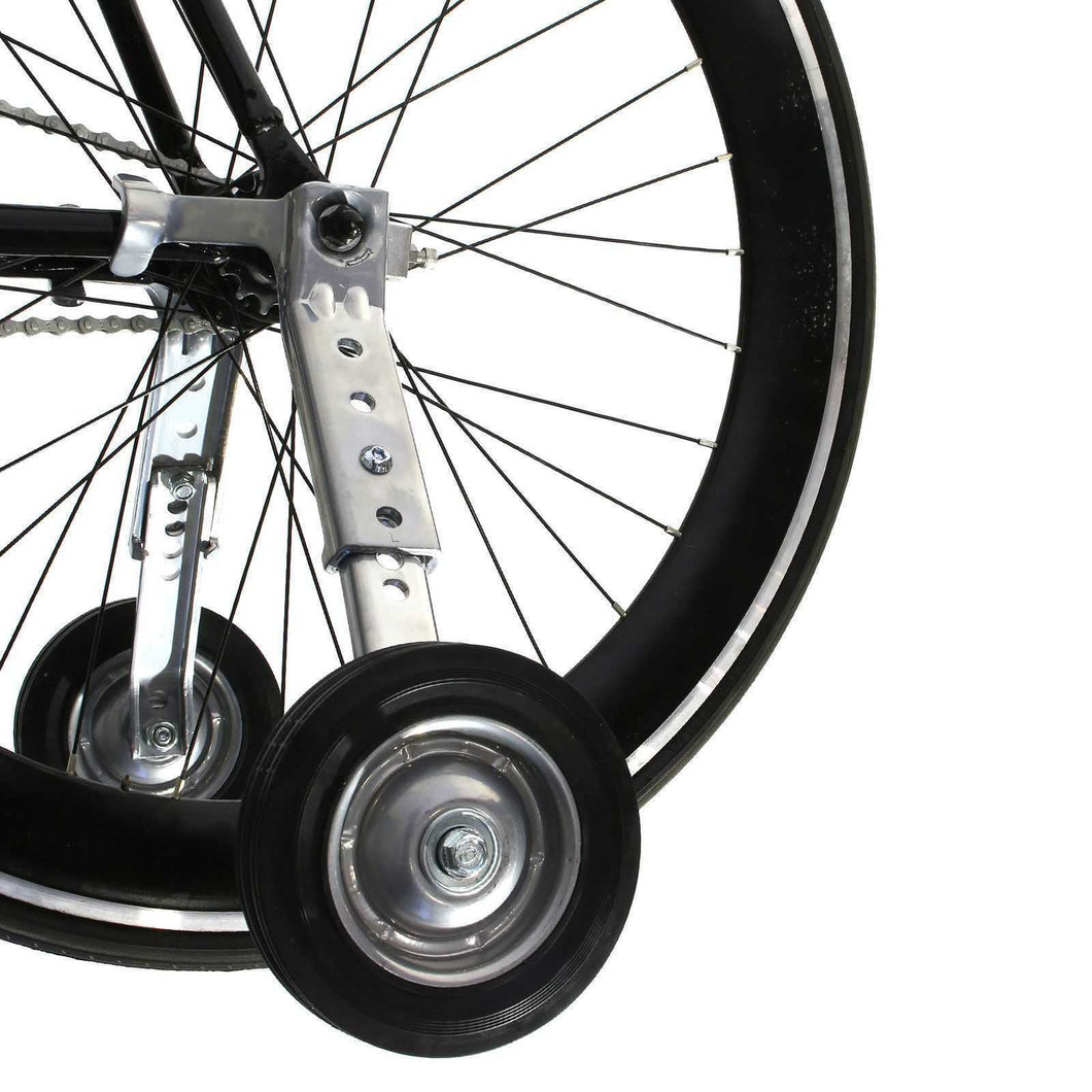 Adjustable Adult Bicycle Bike Training Wheels Fits 20