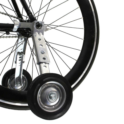"Adjustable Adult Bicycle Bike Training Wheels Fits 20"" to 26"" SM-903QW"