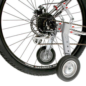 "Adjustable Adult And Kids Bicycle Bike Training Wheels Fits 24"" to 28"""