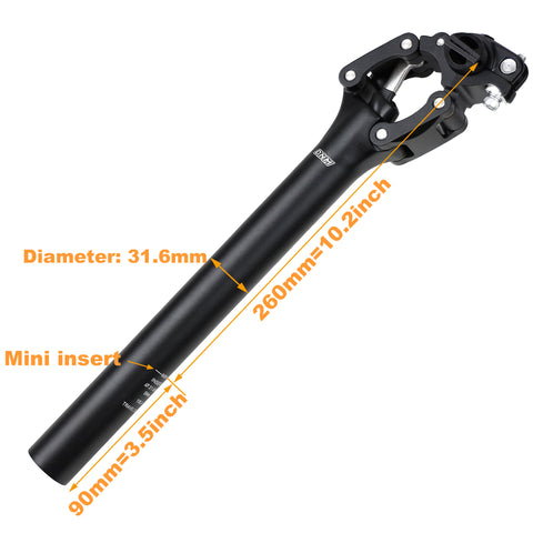 DNM Mountain Road Bike Bicycle Suspension Seatpost