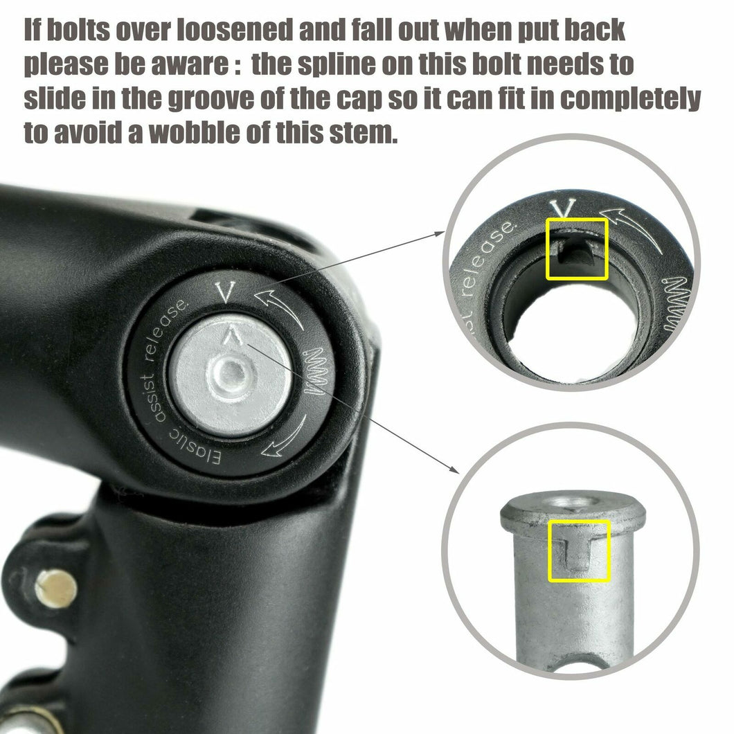 SATORI UP2 Bike Bicycle Stem Riser Extension 1-1/8