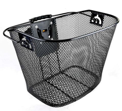 Bicycle Bike Front Basket Wicker with Quick Release TL393-ML138