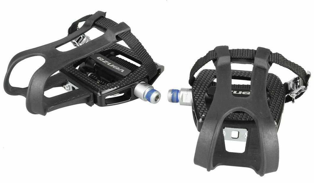 Venzo Fitness Shimano Exercise SPD Compatible Spin Bike Pedals