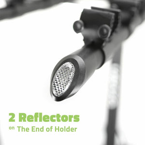 "VENZO 4 Bicycle Bike Rack 1.25"" and 2"" Hitch Mount Car Carrier"