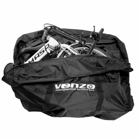 "VENZO 210D Nylon Bike Bicycle Carry Bag For 20"" Folding Bike VZ-F21-053-20"